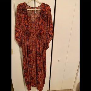 Melissa McCarthy Seven7 Maxi Dress